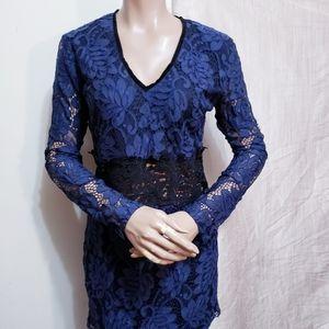 Romeo and juliet couture mini lace dress SZM